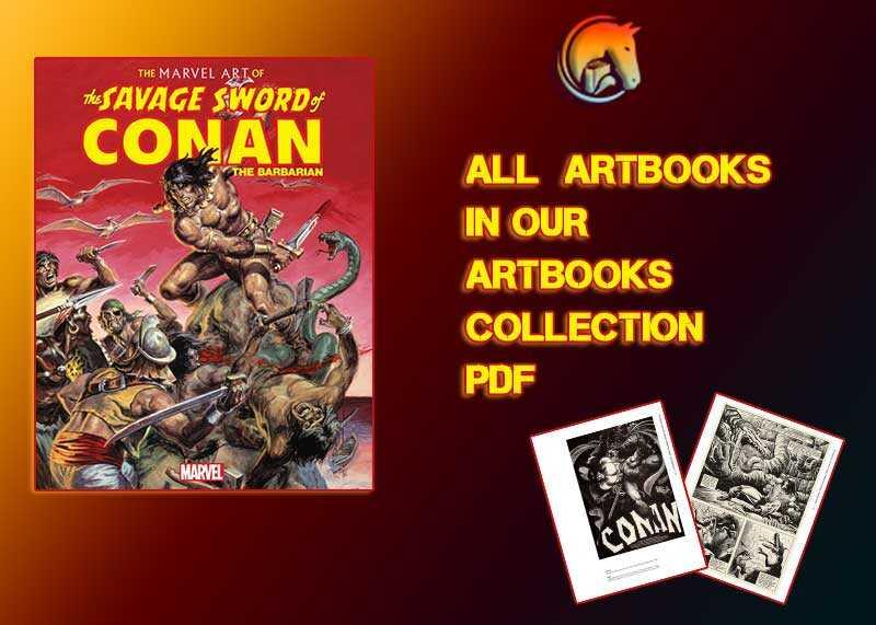 Marvel Art Savage Sword Conan