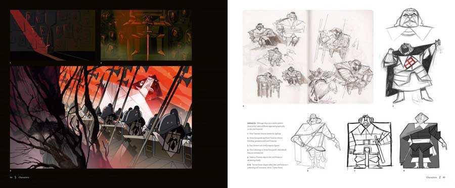 artbook WolfWalkers pdf